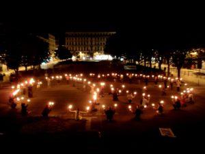 02 octobre 2011 La paix illumine Sainté