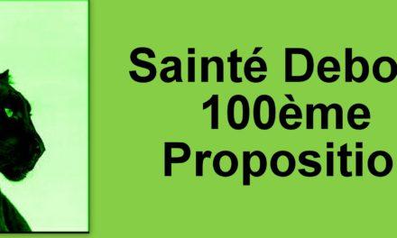 La 100 ème proposition