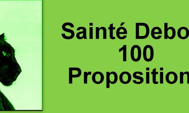 100 propositions pour Saint Etienne
