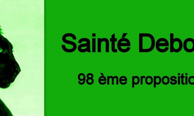 98ème proposition