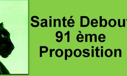 91éme Proposition