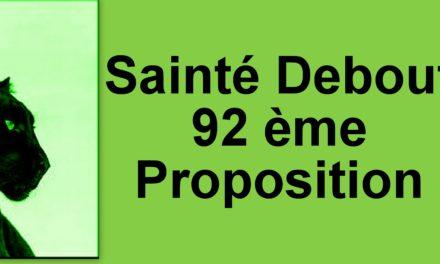92ème Proposition