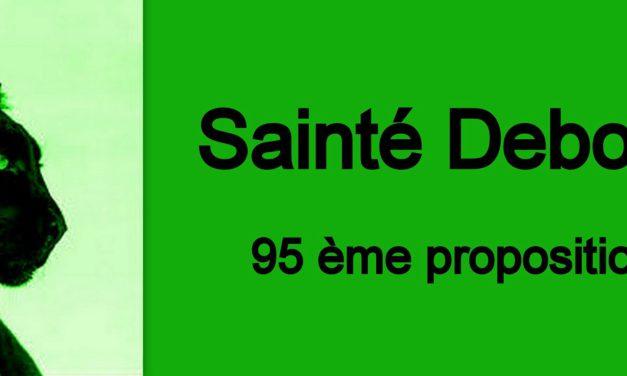 95ème proposition