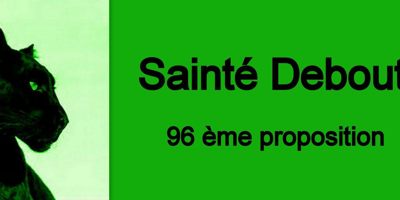 96ème PROPOSITION