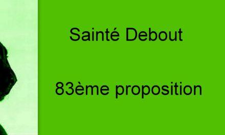 83éme proposition