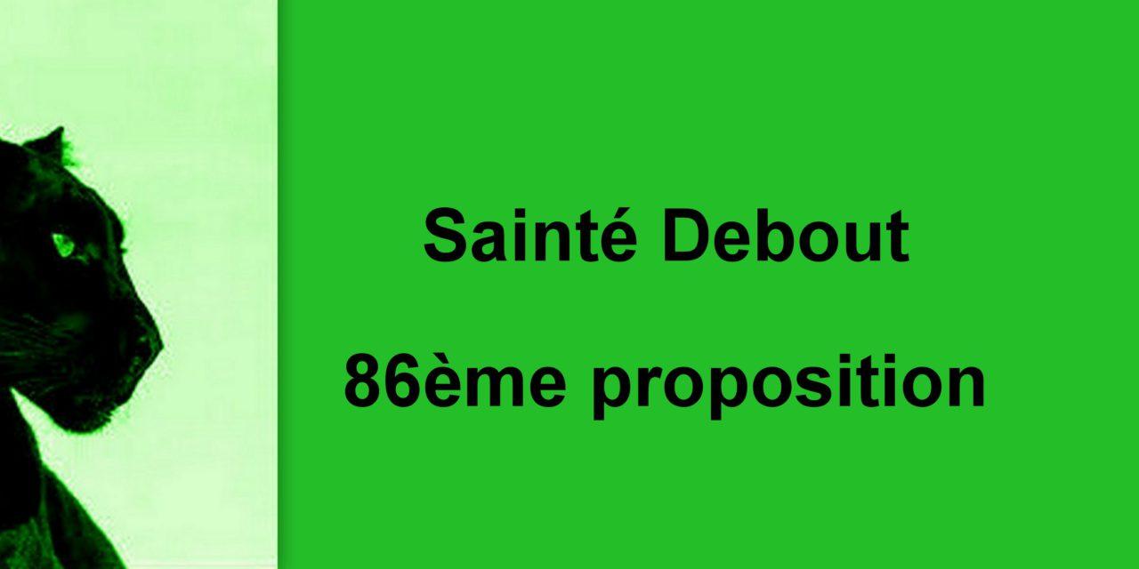 86ème proposition