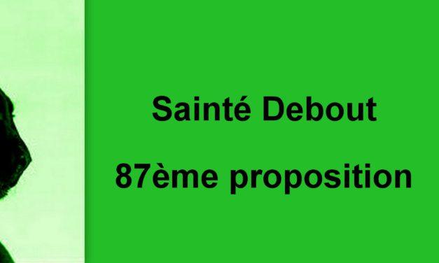 87ème proposition