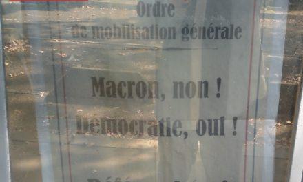 Référendum ADP ! Sainté s'organise !