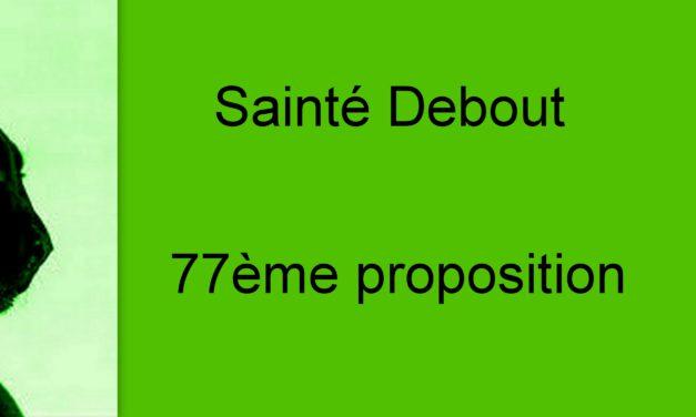 Proposition 77: Créer des places en crèches