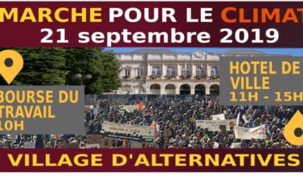 MARCHE POUR LE CLIMAT Saint Etienne