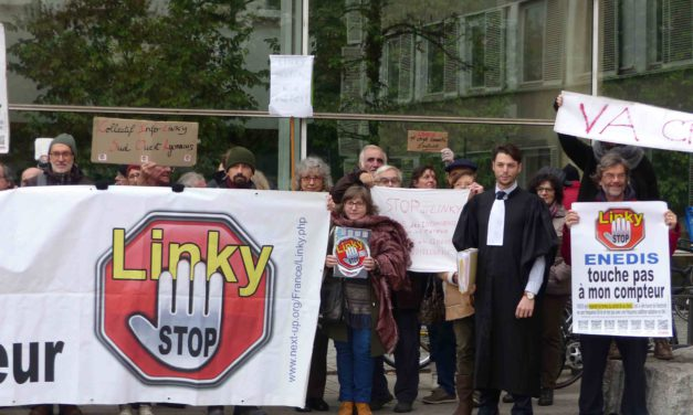 Linky, 5G… combattre l'emballement numérique par Stop Linky-Gazpar 42